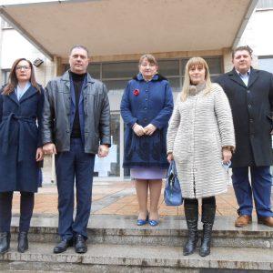 Деница Сачева регистрира листата на ГЕРБ – СДС за кандидати за народни представители на Добрич