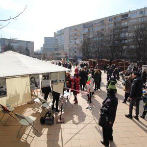 Частица от българския дух подари на Добрич Почетният караул на паметта