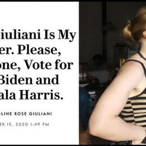 Щерката на Джулиани: Бисексуална съм и сексът в тройка ме води към себеоткриване