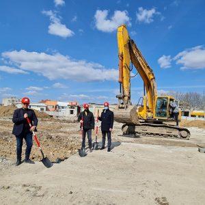 """Започна строителството на нов търговски център в Добрич – """"DS Park"""""""
