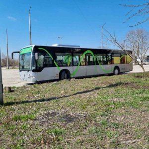 Общинската транспортна фирма в Добрич се похвали с истински автобус